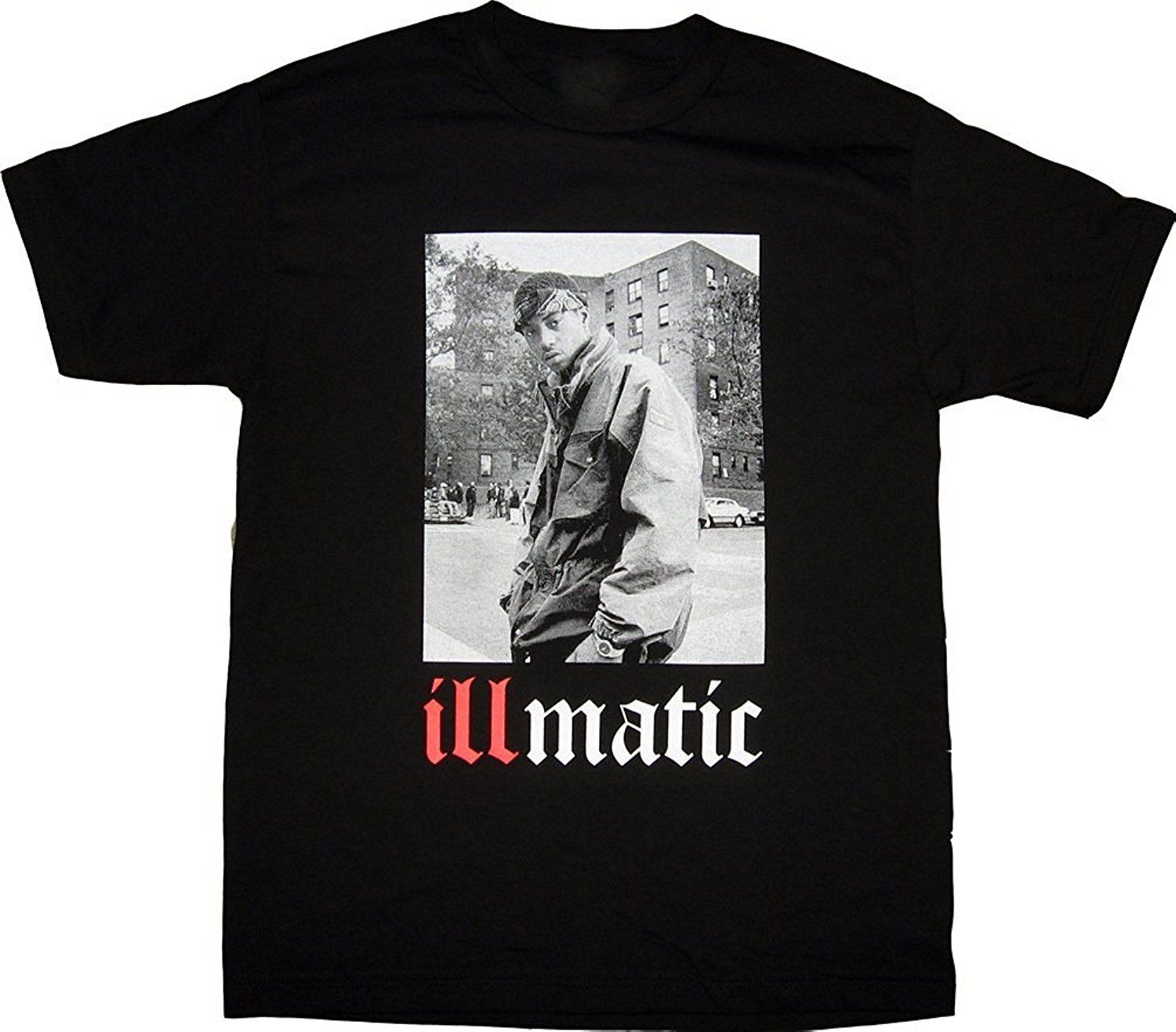 ISB Products Ill Street Blues Golden Era Real Hip Hop Classic Illmatic T-Shirt Top Quality T Shirts Men O Neck Top Tee