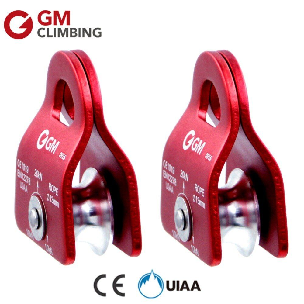 GM Climbing Rope Pulley Climbing Mountaineering <font><b>Equipment</b></font> CE / UIAA 20kN Fix 1/2 inch Rope Survival Caving Rescue Rock Climbing