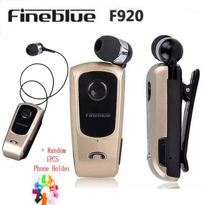 FineBlue F920 Наушники Наушники Беспроводные Наушники Драйвер Bluetooth-гарнитура Звонки Напомнить Износ Вибрации Клип наушники