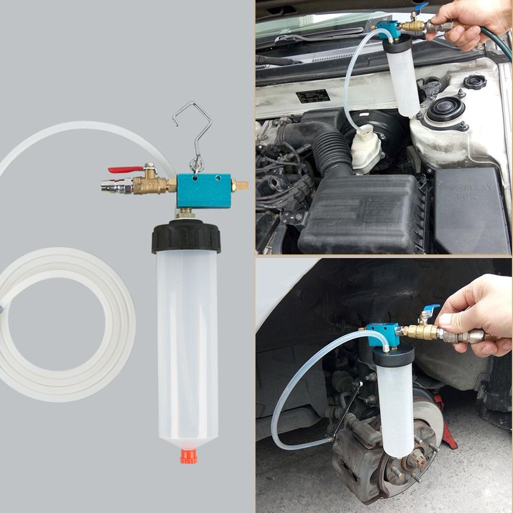 Universal Auto Car Brake Fluid Oil Change Replacement Tool Pump Oil Bleeder Empty Exchange Drained Kit <font><b>Equipment</b></font> Tool Free Ship