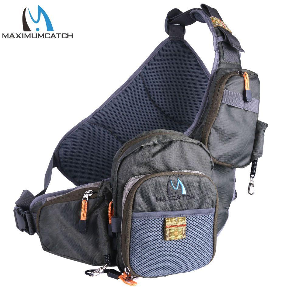 Maximumcatch Angeltasche Tragbare Mehrzweck Fliegenfischen Pack Angeltasche Angelgerät Tasche