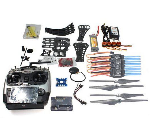 DIY RC Drone Quadrocopter RTF X4M360L Rahmen Kit mit GPS APM 2,8 AT9 TX F14892-C