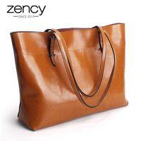 2018 новый стиль коричневый для женщин сумки 100% пояса из натуральной кожи Женский плеча Кошелек Дамы черная сумка большой ёмкость хозяйствен...
