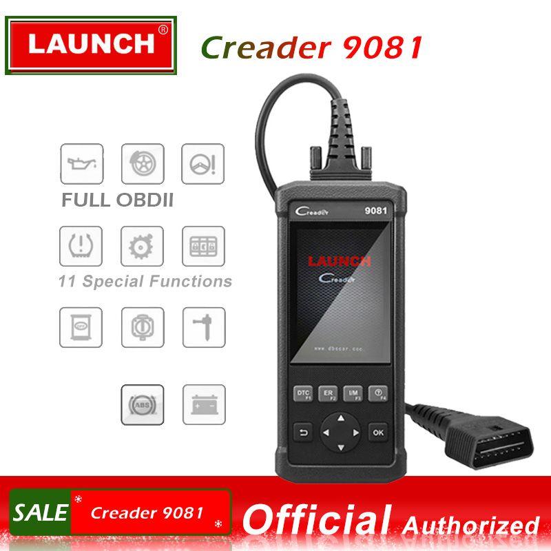 Starten OBDII Scanner Creader 9081 code reader Scanner Mit Air tasche Batterie Management System Reset CR9081 OBD 2 diagnose