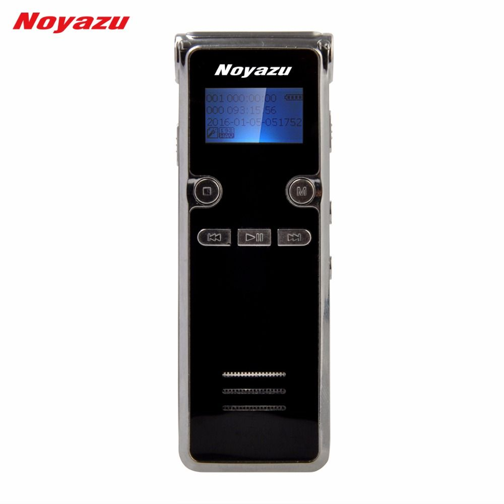 Noyazu 906 16G Professional Digital Voice Pen Recorder with Mp3 Player Sound Recording Microphone Ditaphone