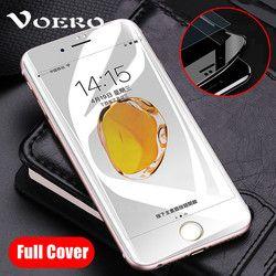 VOERO 3D 9 H Bord Incurvé Pleine Couverture En Verre Trempé Pour iPhone 7 6 S 6 S 8 Plus Protecteur D'écran Pour iPhone 7 Plus Protection Film