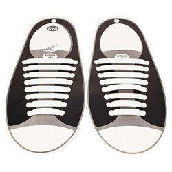 No lazo cordones para niños y adultos-12 colores (paquete de 16 piezas Vtie silicona Shoeslaces, funciona en todas las zapatillas) zapatos