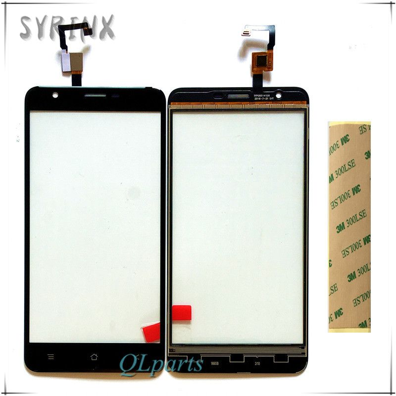 Syrinx With Tape Touchscreen Sensor For Blackview E7 E7S Touch Screen Digitizer Front Glass Lens Panel Replacement Free Shipping