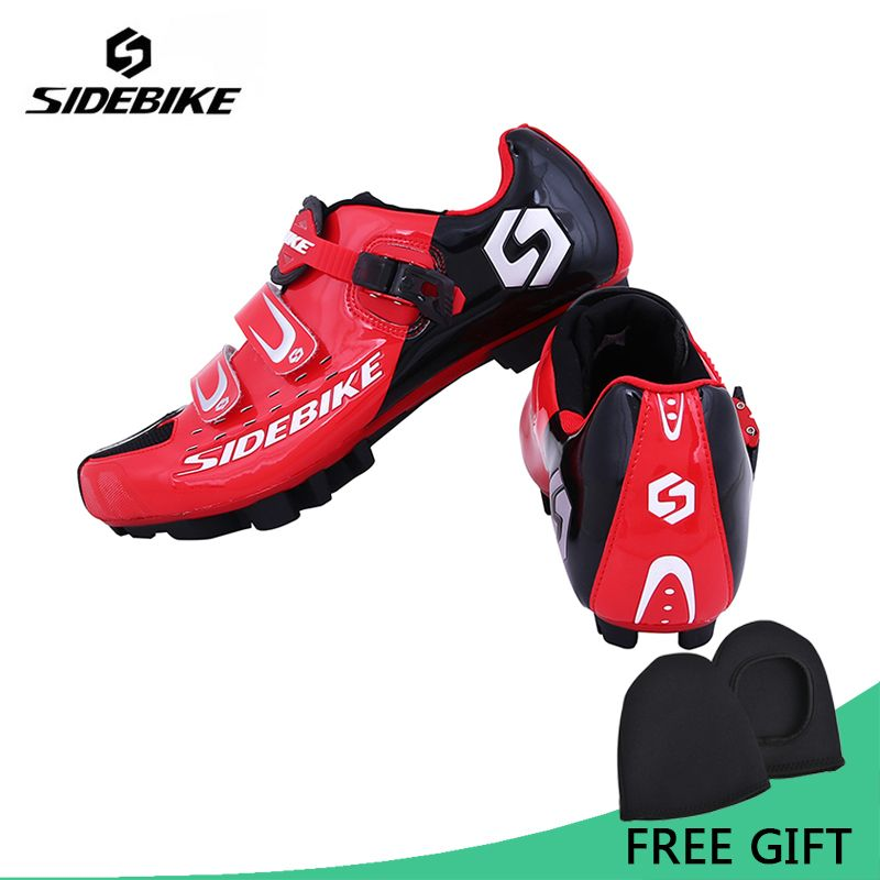 Sidebike Professional Athletic Bicycle Sports Shoes Cycling MTB Bike Shoes Mountain Shoes Men MTB Bike Self-Locking Shoes