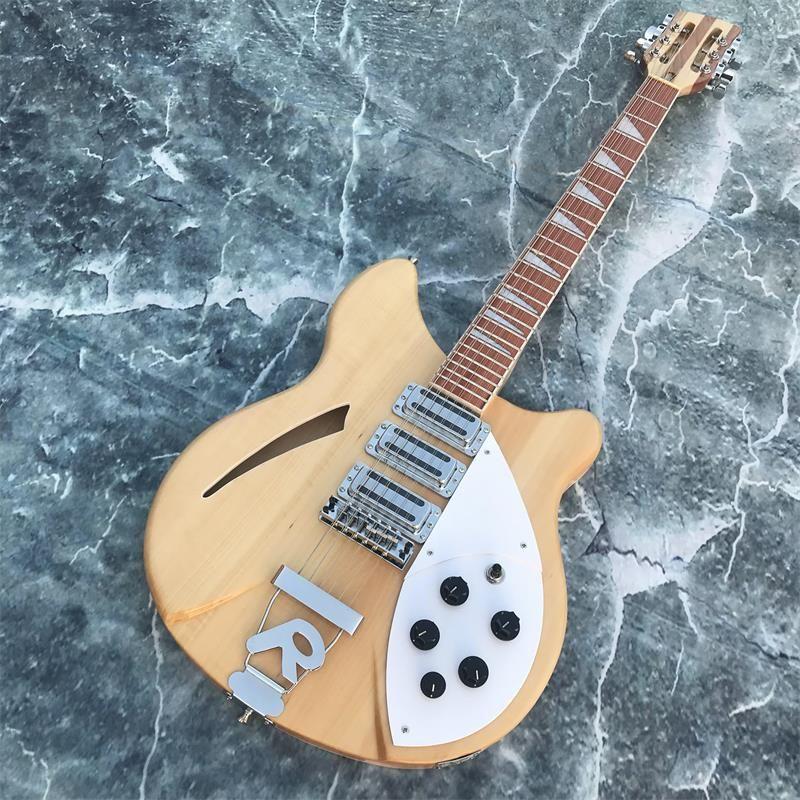 12-string gitarre, Rickenback 360 Elektrische Gitarre, Drei pickups, palisander griffbrett hat den glanz von lack auf es, freies verschiffen
