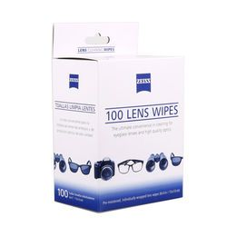 wholesale price 100 counts ZEISS screen antibacterial cleaning wipes paper pad cloth