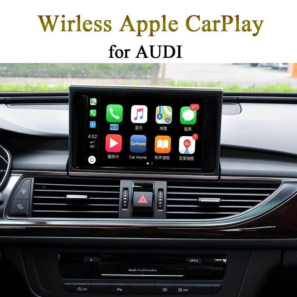Neue Auto Drahtlose Carplay Video Interface für AUDI 3G MMI/MIB System A3 Q3 Q5 A6 A4 Q7 unterstützung Apple Carplay Android Auto
