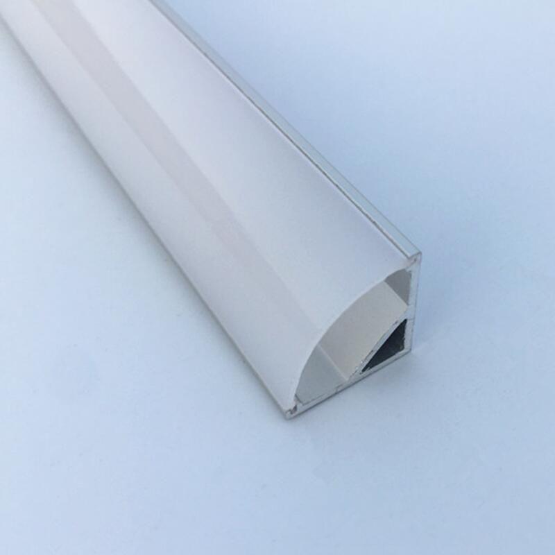 5-15 pièces TS12A aluminium led profil coin gratuit DHL expédition conduit en aluminium pour bande de led logement
