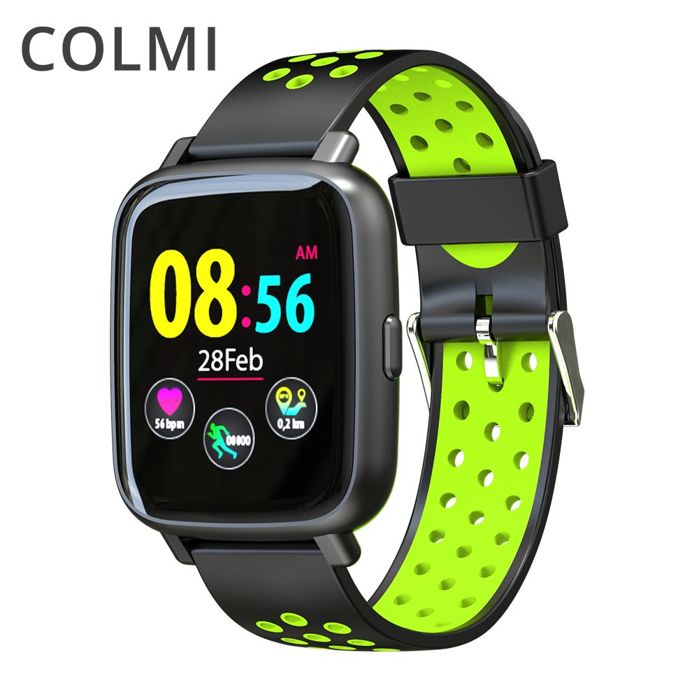 COLMI Smart Watch Heart Rate Monitor IP68 Waterproof Swimming Bracelet Bluetooth Sport Clock for Men Women Smartwatch