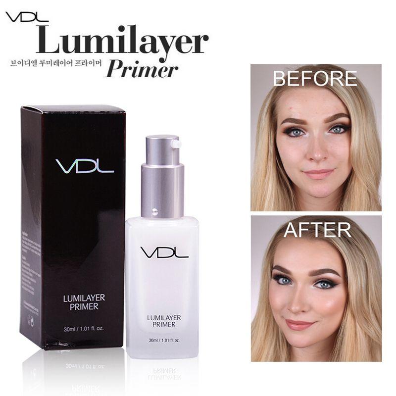 Vdl 30 ML maquillage crème Primer Concealer visage surligneur Contour Brigthen Base de maquillage fondation