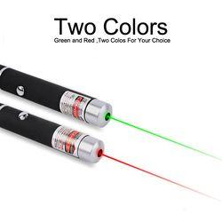 Лазерная указка 5 мВт мощное 500 м Лазерное Перо профессиональное лазерное указатель для обучения на открытом воздухе игры красный/зеленый