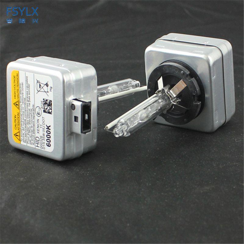 Fsylx 35 Вт D1S ксеноновые лампы 4300 К 6000 К 8000 К 10000 К ксеноновые лампы D1S лампы ксеноновые лампы D1/D1S/D1C 12 В 35 Вт фар автомобиля
