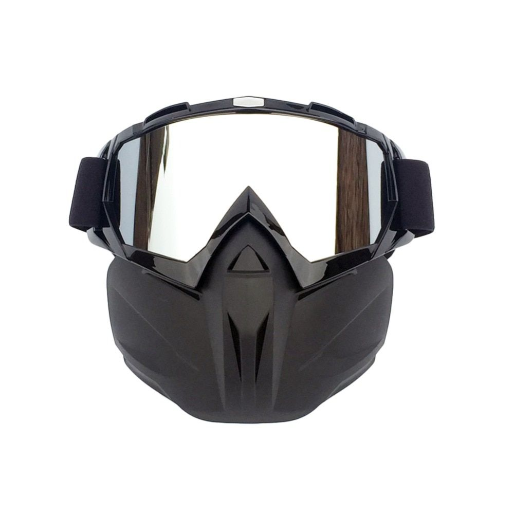 Men Women Ski Snowboard Snowmobile Goggles Snow Winter Windproof Skiing Glasses Motocross Sunglasses With Face Mask
