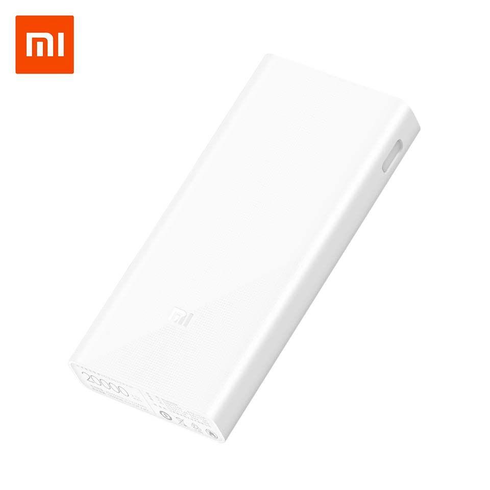Xiao mi mi Puissance Banque 20000 mah 2C Externe Batterie portable de Charge Double USB Ports Deux-wayQuick Charge QC3.0 20000 mah Powerbank