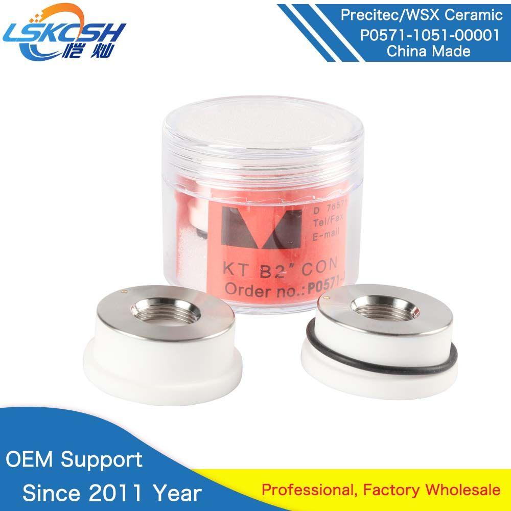 LSKCSH 10 teile/los Precitec laser keramik China hergestellt precitec düse halter KT B2