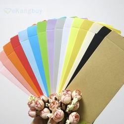 50 pcs 170mm * 85mm Couleur Papier Enveloppe Verticale Style Chinois Cadeau Enveloppe
