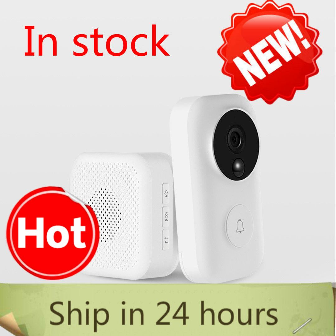 Xiaomi Zero AI Face Identification 720P IR Night Vision Video Doorbell Set Detection SMS Intercom Free Cloud Storage