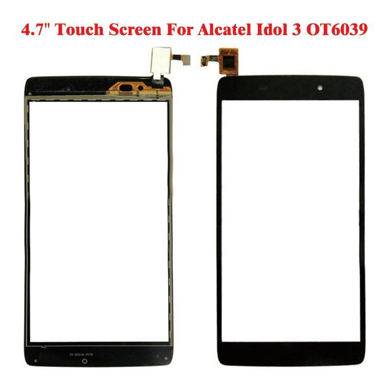 New Black Touch Screen Digitizer For Alcatel Idol 3 4.7