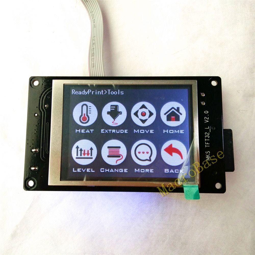 MKS TFT32 V3.0 écran tactile 3D Imprimante splash lcd contrôleur intelligent afficher RepRap TFT monitor support wifi/BT