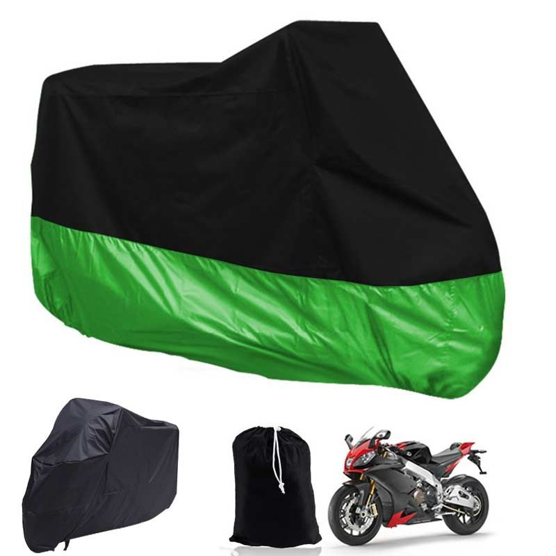 New Motorcycle Covers Waterproof Breathable Outdoor Motorcycle Scooter Rain Coat UV Protective Covering XL/XXL/XXXL