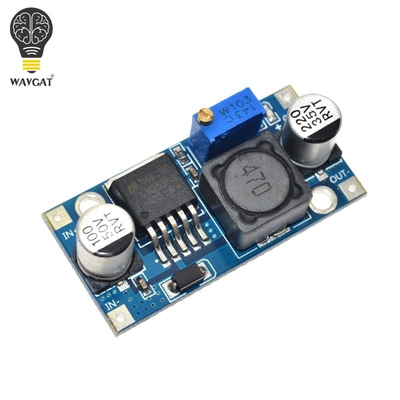 100PCS LM2596 LM2596S DC-DC 4.5-40V adjustable step-down power Supply module NEW ,High Quality