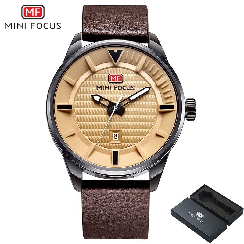 MINI Montre de CONCENTRER Hommes Top Marque De Luxe Quartz Date Horloge Mâle Montres de Sport Hommes En Cuir Militaire Montre-Bracelet relogio masculino