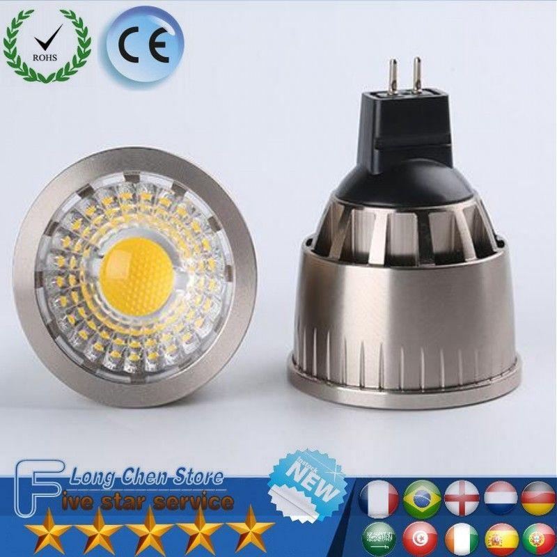 Светодио дный свет MR16 GU10 E27 9 Вт 12 Вт 15 Вт 20 Вт 220V 110V 12 В пятно лампы Диаметр Яркий Мини лампы светодио дный лампы гостиной спальня