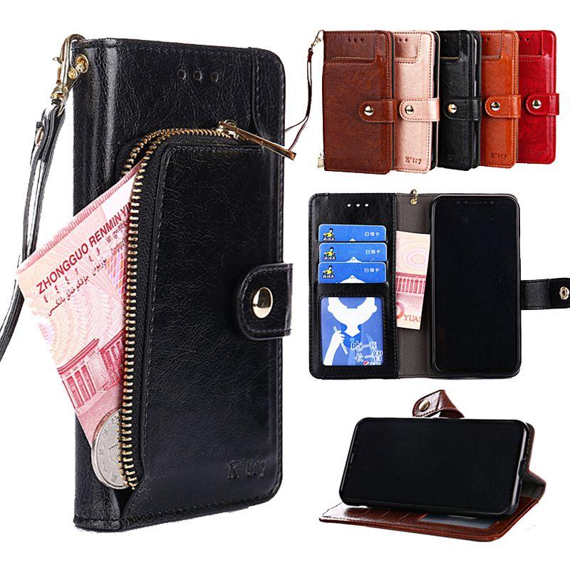 Leather Flip Case For Samsung Galaxy J2 J3 J4 j5 J6 j7 J8 2015 2016 2017 pro 2018 prime J7 plus max DUO Wallet Card Phone Bags