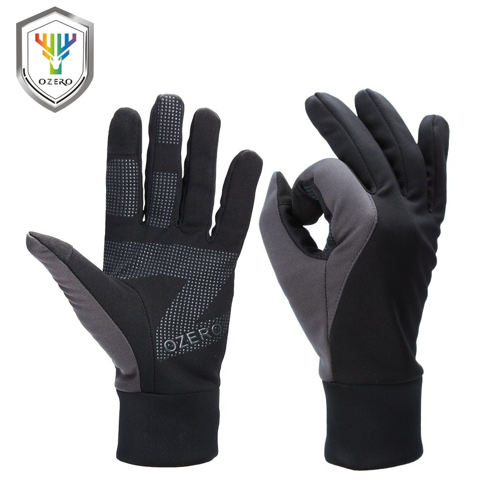 OZERO Men's Work Gloves Touch Screen Driver Sports Winter Outdoor Warm Windproof Waterproof Below <font><b>Zero</b></font> Gloves For Men Women 9010