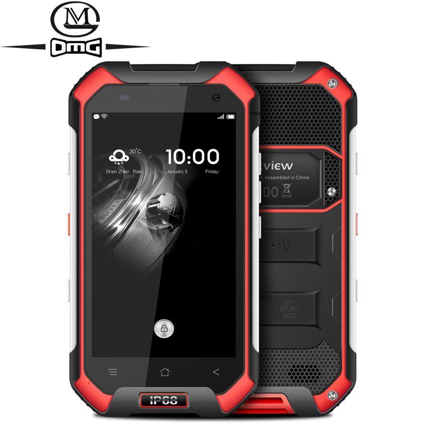 Original Blackview BV6000S IP68 Waterproof Smartphone shockproof MT6737 Quad Core Android 6.0  4G LTE  2GB RAM 4.7