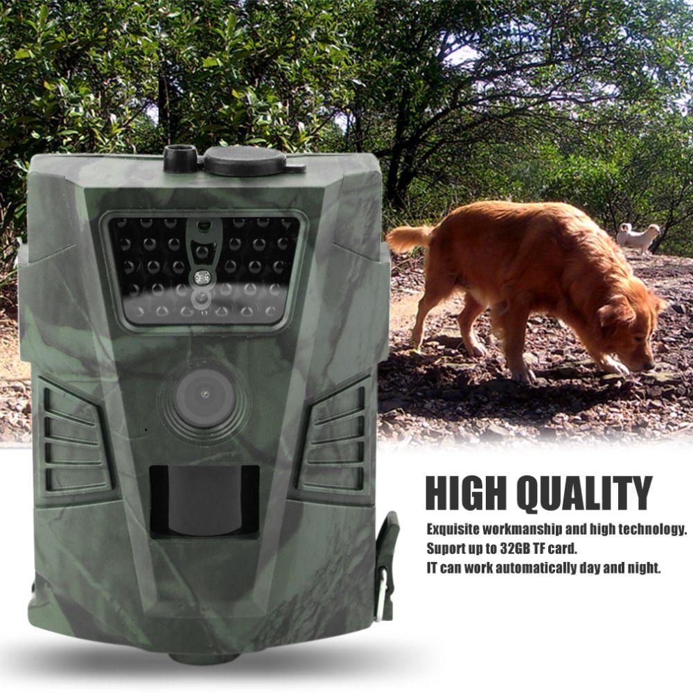 HT-001 12MP 60 Grad Erfassungswinkel Jagd Kamera Outdoor Digitalen Jagdhinterkamera Ohne LCD Wildlife Kameras 720 P