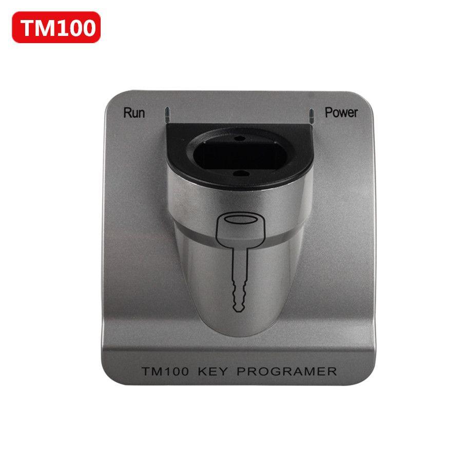 TM100 Transponder Schlüssel Programmierer V7.14 mit Grund Modul Update Online Kostenloser Lebensdauer