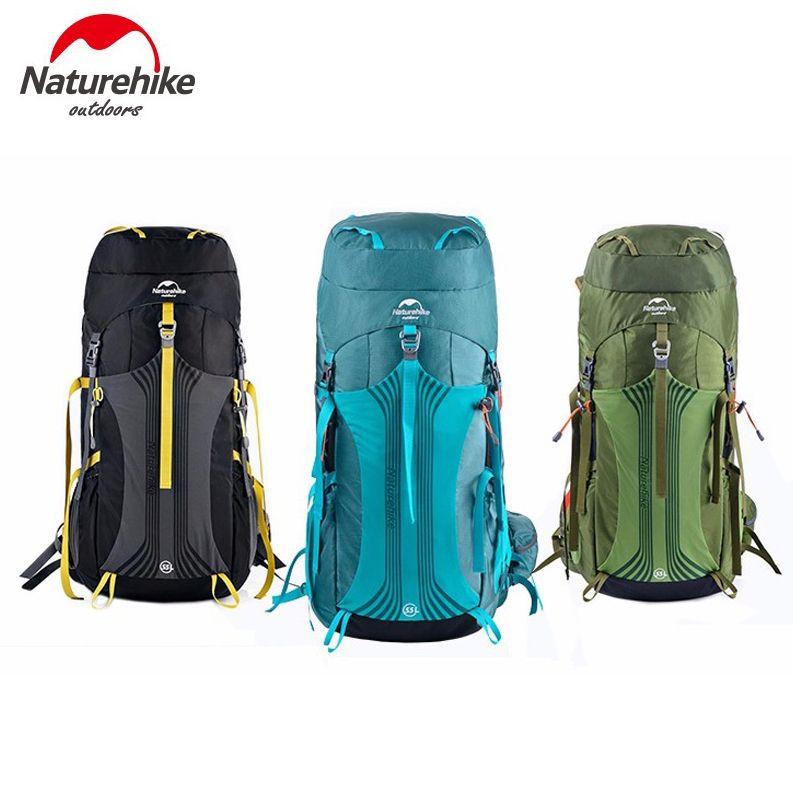 Naturehike Unisex Große Kapazität Outdoor-Sport-Rucksack Atmungs Reise Trekking Rucksack NH16Y020-Q/NH16Y065-Q