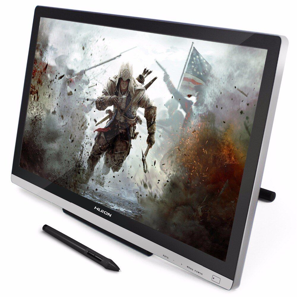 Huion GT-220 V2 21.5 Inch 8192 Levels IPS HD Pen Display Graphics <font><b>Drawing</b></font> Tablet Monitor Pen Tablet Monitor with Free Gifts