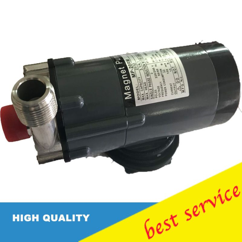 Home brew Pump 220V Magnetic Drive Pump MP-20RM With Stainless Steel Head