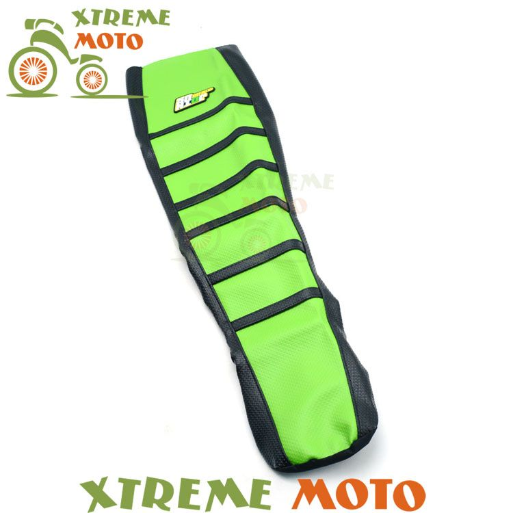 Green Gripper Soft Seat Cover For Kawasaki KLX250 KLX300 94-07 94 95 96 97 98 99 00 01 02 03 04 05 06 07 Motorcycle Dirt Bike
