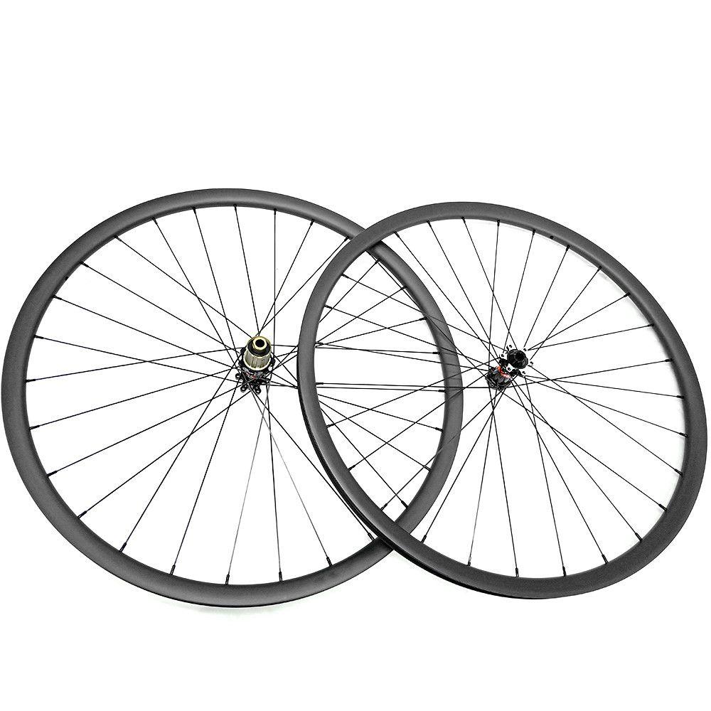 Ultraleicht 1180g carbon mtb räder 27.5er D411SB/S412SB naben 650B MTB bike disc räder 27mm breite UD matte tubeless 1420 speichen