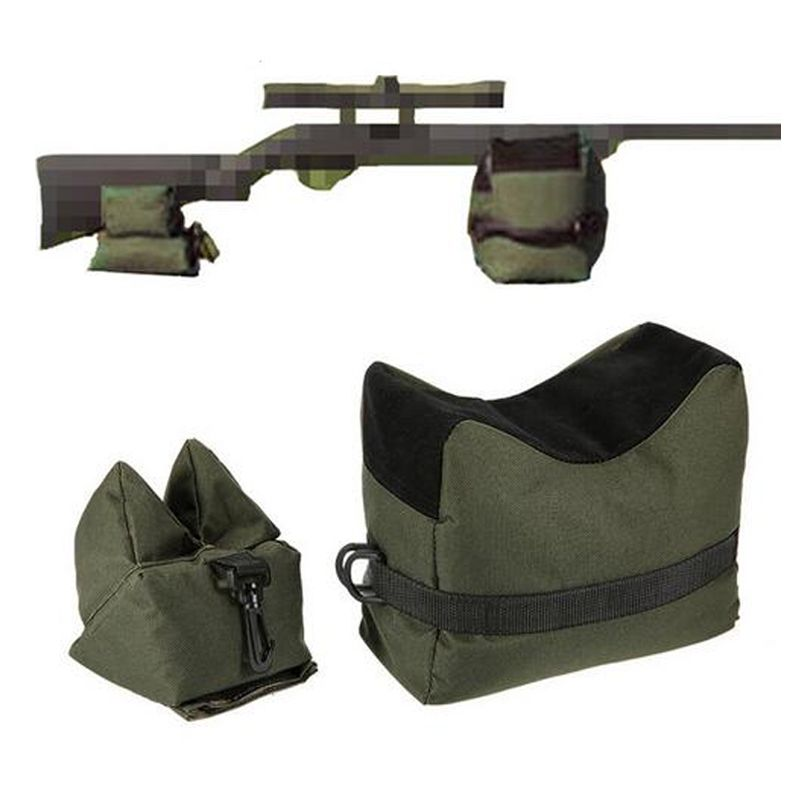 Front & Rear Bag Rifle Support Sandbag Without Sand Military Sniper Shooting Target Stand Hunting Gun Accessories