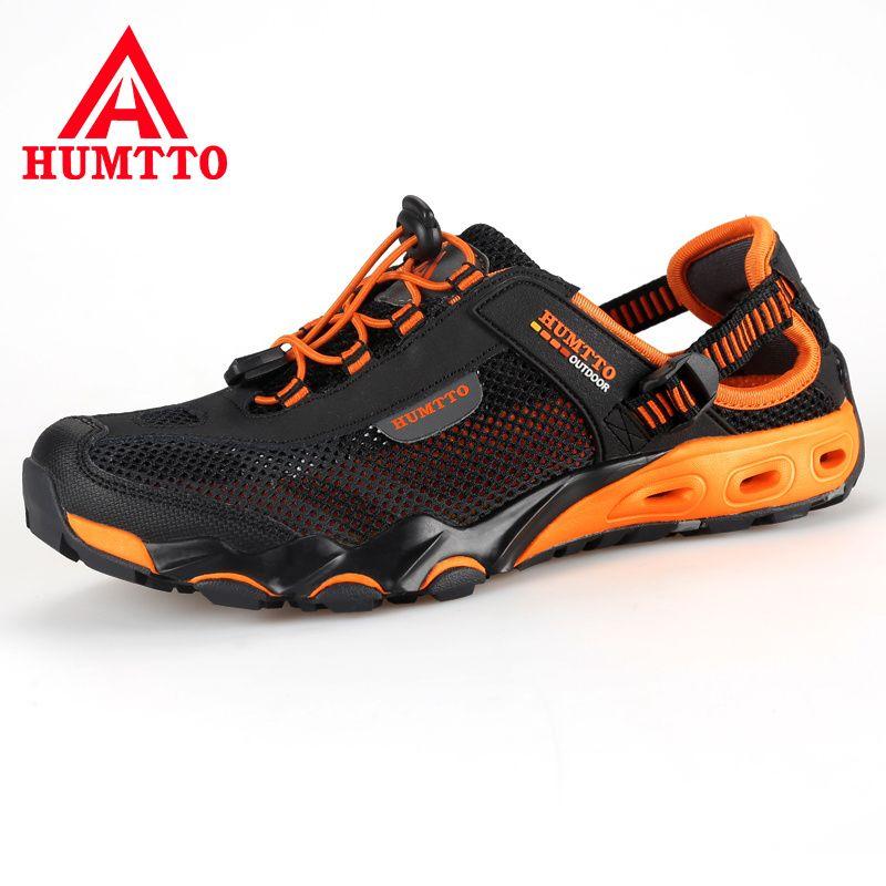 Nouvelle arrivée randonnée en plein air chaussures sapatilhas mulher trekking hommes randonnée scarpe uomo femmes pataugeant amont respirant maille