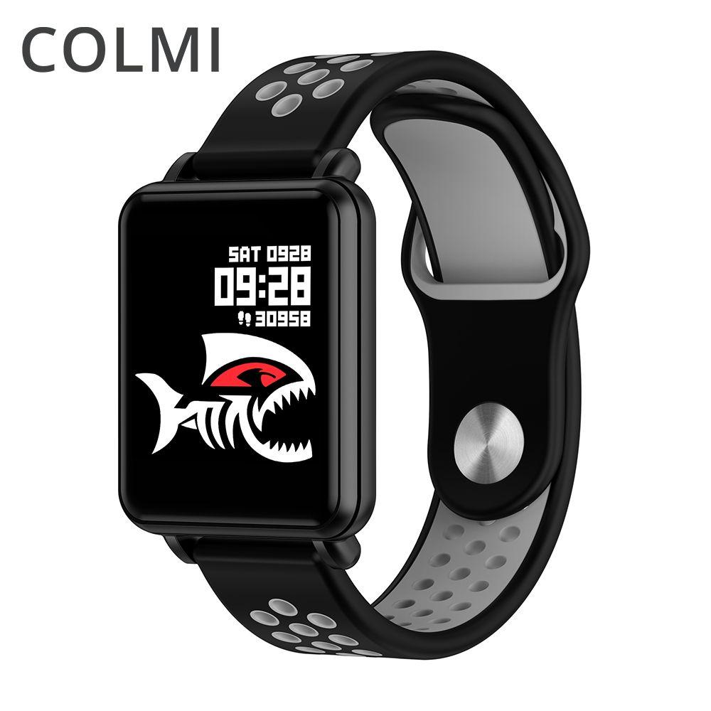 COLMI LAND 1 Smart uhr Laminiert display Volle touch Fitness tracker Push nachricht IP68 wasserdichte Für iphone und Android telefon