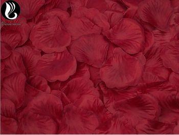 Rose Pétales Pour Accessoires De Mariage 40 Couleurs Coloré Soie Fleurs Fleur Artificielle De Mariage Pétales Petalos De Rosa Boda BV273