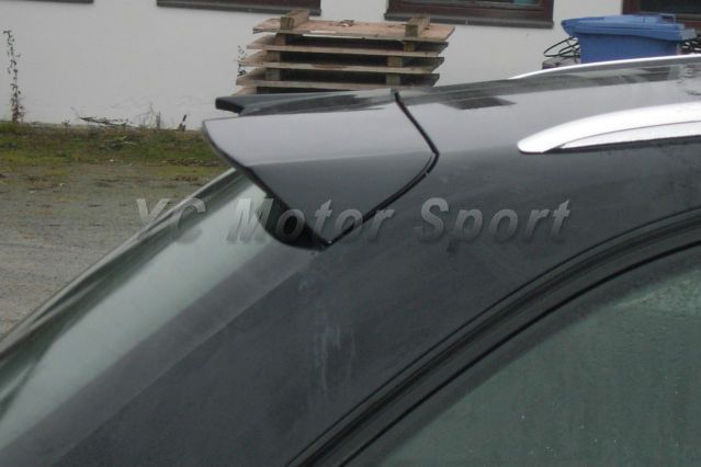 Car Accessories Carbon Fiber Roof Spoiler Wing Fit For 2009-2013 A4 B8 Avent RS4 Design Style Roof Spoiler Wing