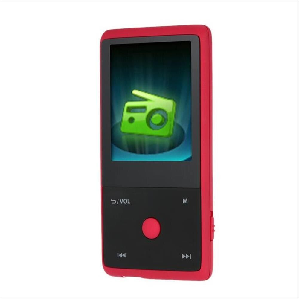 HOTT MU1036 2018 Bluetooth MP3 Player with 8GB 1.8 Inch Screen Sports MP3 Player High Quality Lossless Recorder FM E-Book Clock