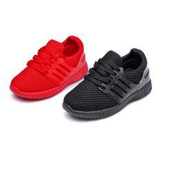 Bavoirsj tamaño grande cómodo cordón Rojo Negro zapatos de bebé al aire libre moda Casual zapatillas pisos B1807