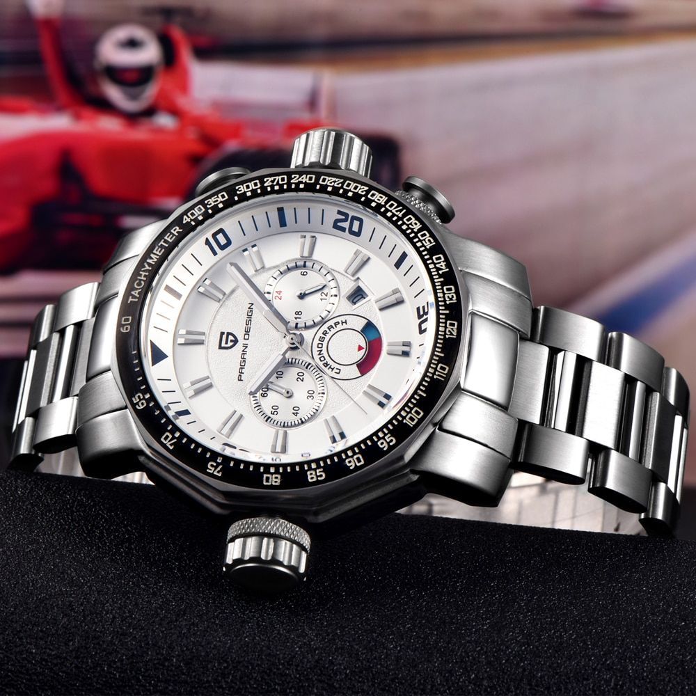 Gewicht von Big Zifferblatt Dive 30 mt Military Uhren Männer Luxus Marke Multifunktions Sport Uhren Relogio Masculino Pagani Design 2703